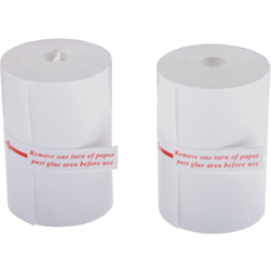 Spare Paper Rolls for Printer  2 pcs.