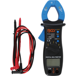 Digital Multimeter with Clamp for DC and AC Current
