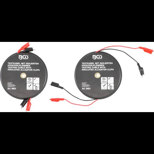 BGS  Technic Aligator-Clip Cable Box  automatic reel  15 m