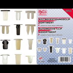 Automotive Clip Assortment for Toyota, Nissan, Mitsubishi  350 pcs.