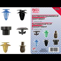 Automotive Clip Assortment for Opel  300 pcs.