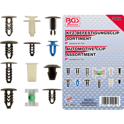 Automotive Clip Assortment for Fiat  308 pcs.