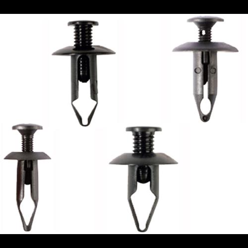 BGS  Technic Assortiment kunststof spreidclips voor Mazda, Honda, Ford, Nissan, VW  240-dlg