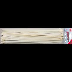 Cable Tie Set  white  8.0 x 600 mm  20 pcs.