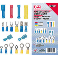 Cable Lug Assortment  360 pcs.