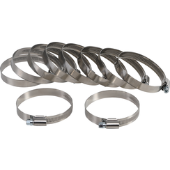 Hose Clamps  Stainless  50 x 70 mm  10 pcs.