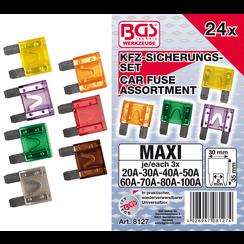 Assortiment autozekeringen  Maxi  24-dlg