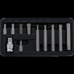"""Bitset  10 mm (3/8"""")  veeltand (voor XZN)  11-dlg"""