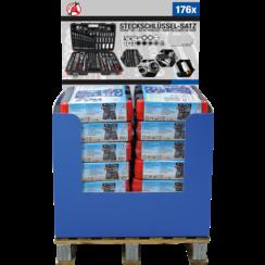 Sales Display  1/2 Pallet  Socket Set  176 pcs.