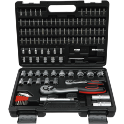 """Socket Set Super Lock  6.3 mm (1/4"""") / 12.5 mm (1/2"""") Drive  115 pcs."""