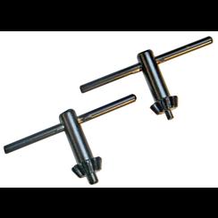 4 Size Drill Chuck Wrench Set  Ø 10 / 13 mm  2 pcs.