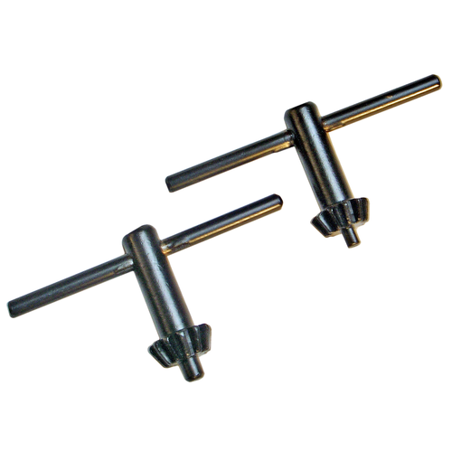 Kraftmann 4 Size Drill Chuck Wrench Set  Ø 10 / 13 mm  2 pcs.