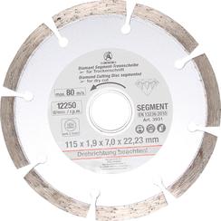 Segment Cutting Disc  Ø 115 mm
