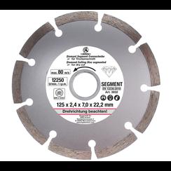 Segment Cutting Disc  Ø 125 mm