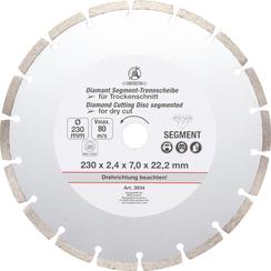 Segment Cutting Disc  Ø 230 mm