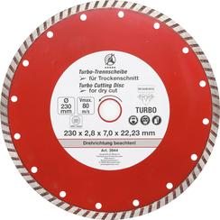 Turbo Cutting Disc  Ø 230 mm
