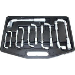 Soksleutelset  6 - 22 mm  11-dlg