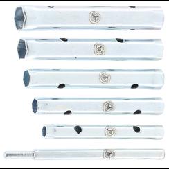 Pijpsleutelset  8 x 9 - 16 x 17 mm  6-dlg