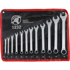 Combination Spanner Set  6 - 22 mm  12 pcs.