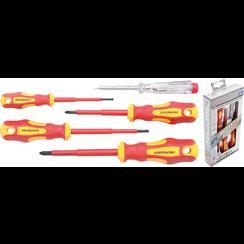VDE Electrician's Screwdriver Set  Slot SL / Cross Slot  5 pcs.