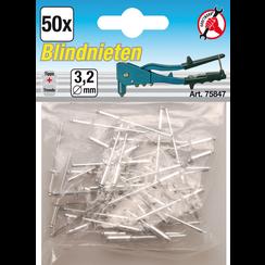Blind Rivets Assortment  Ø 3.2 mm  50 pcs.
