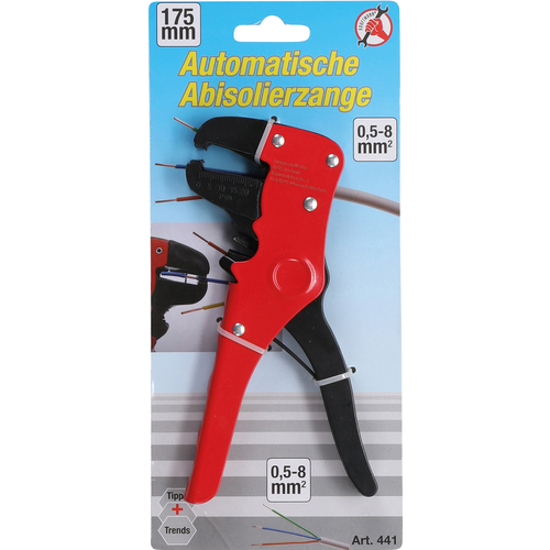 Kraftmann Automatic Wire Stripper  0.5 - 8 mm²  175 mm