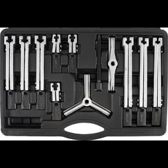 Internal/External Puller Set, 2/3-legs  35 - 135 mm  12 pcs.