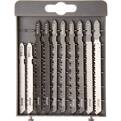 Jigsaw Saw Blade Set  10 pcs.