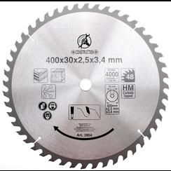 HM cirkelzaagblad  Ø 400 x 30 x 3,4 mm  48 tanden