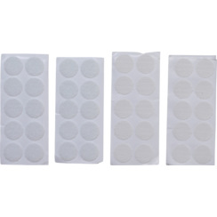 Klitpunten  zelfklevend  wit  40-dlg