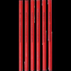 Carpenter's Pencils  250 mm  6 pcs.
