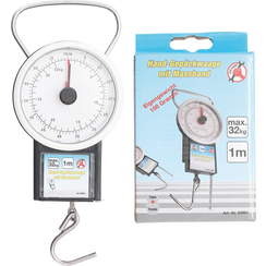 Luggage Scale with Measuring Tape  max. 32 kg