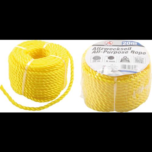 Kraftmann All-Purpose Rope  6 mm x 20 m