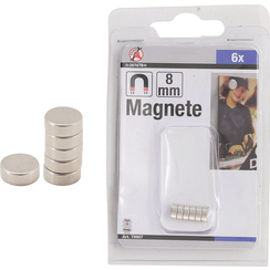 Magnet Set  extra strong  Ø 8 mm  6 pcs.