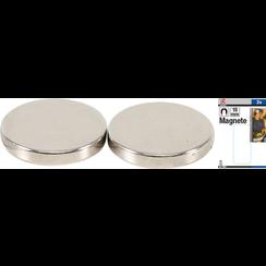 Magnet Set  extra strong  Ø 18 mm  2 pcs.