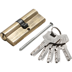 Brass Cylinder Lock  80 mm