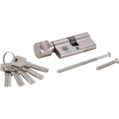 Security Cylinder Lock  with Rotary Knob  60 mm