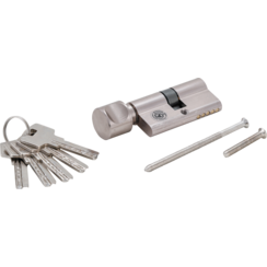 Security Cylinder Lock  with Rotary Knob  70 mm