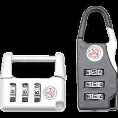 Combination Luggage Lock Set  2 pcs.
