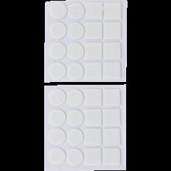 Felt Pads Set  white  32 pcs.