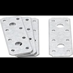Flat Steel Connector  100 x 35 x 2.5 mm  4 pcs.