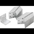 Kraftmann Angle Joint  40 x 40 x 40 x 2 mm  economy pack  50 pcs.