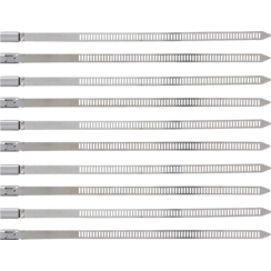 Cable Tie Assortment  Stainless Steel  7.0 x 200 mm  10 pcs.