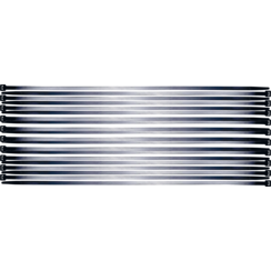 Cable Tie Assortment  black  7.6 x 500 mm  20 pcs.
