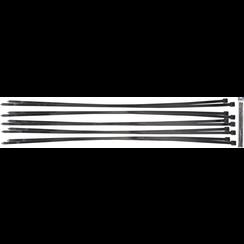 Kabelbinder assortiment  zwart  8,0 x 700 mm  10-dlg
