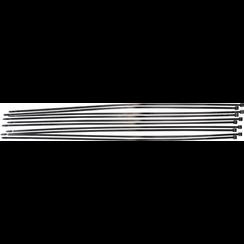 Kabelbinder assortiment  zwart  8,0 x 900 mm  10-dlg