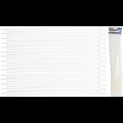 Cable Tie Assortment  white  8.0 x 400 mm  30 pcs.