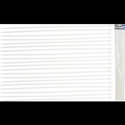 Cable Tie Assortment  white  8.0 x 600 mm  20 pcs.