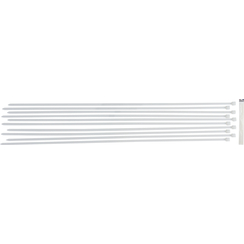 Cable Tie Assortment  white  8.0 x 800 mm  10 pcs.