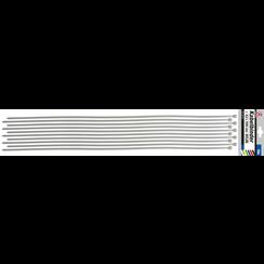 Cable Tie Assortment  white  8.0 x 1000 mm  10 pcs.